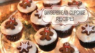 Gingerbread Cupcake Recipe!