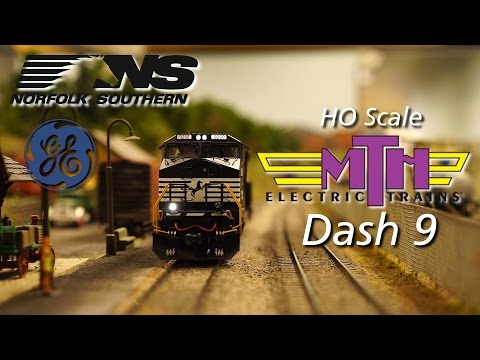 HO MTH Dash 9 Overview