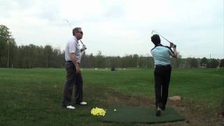 lesson 3 with peter deal with grip change 1 most popular golf teacher on you tube shawn clement
