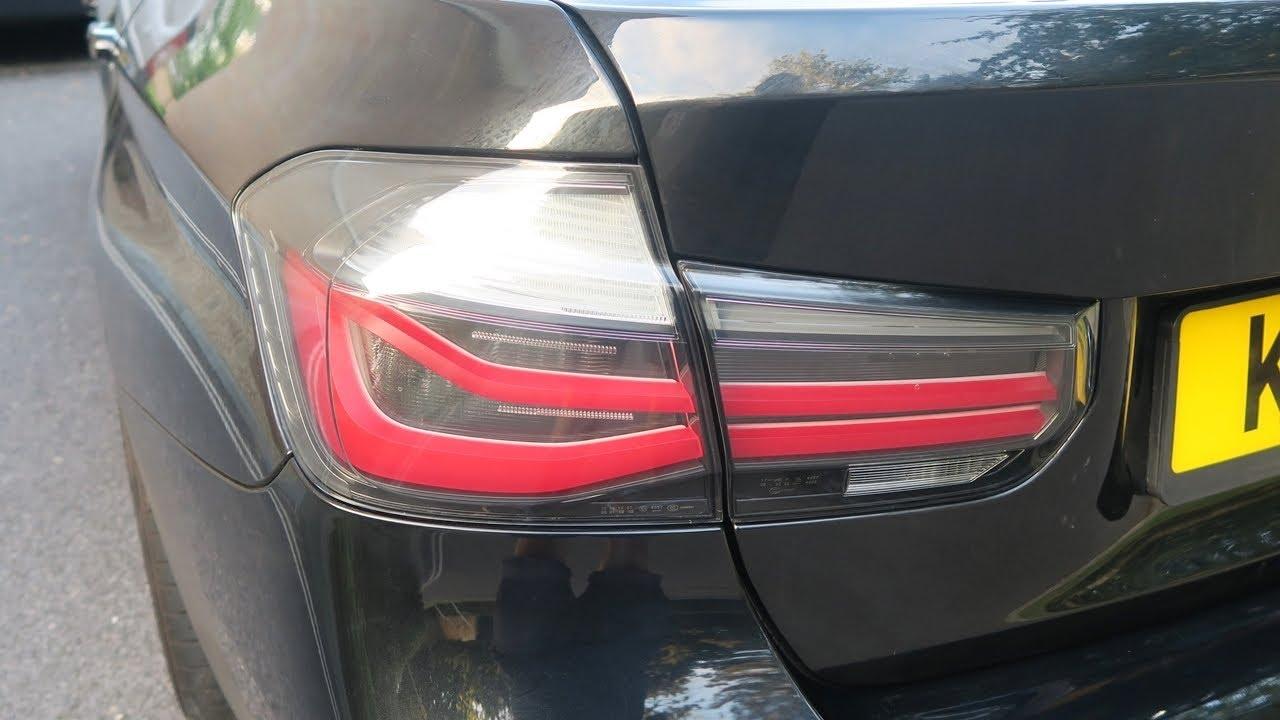 Bmw F30 M Performance Black Line Tail Lights Lci Facelift 335i M
