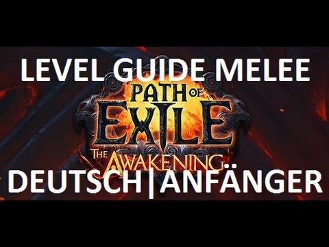 PoE - Level guide Melee - schnell & einsteigerfreundlich - DEUTSCH