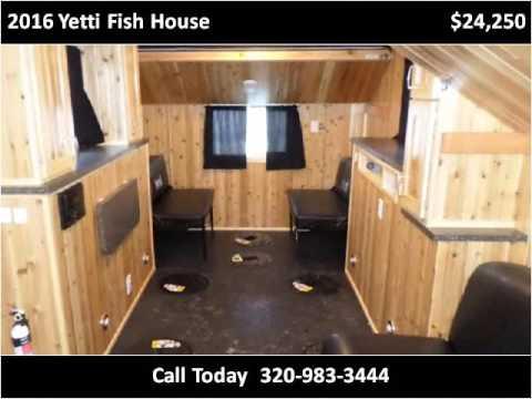 Yetti Fish House >> 2016 Yetti Fish House New Cars Milaca Mn