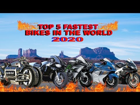 Top 5 Fastest Motorcycles In The World 2020 Youtube