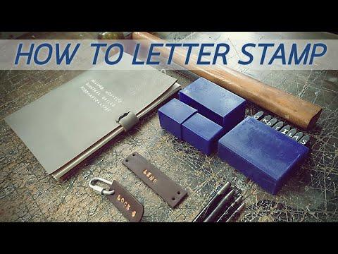Making Letter Stamp