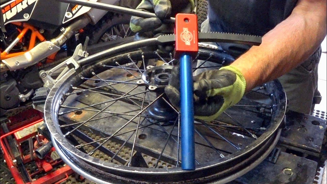 Baja No Pinch Tire Tool Dirt Bike Tire Changing Tool Review Demo