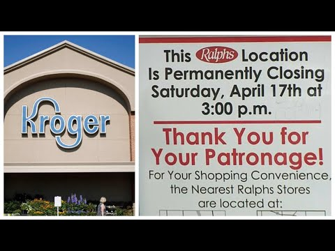 GST Democrat Policy Forces Kroger to CLOSE More Stores Resulting in MASSIVE Layoffs!