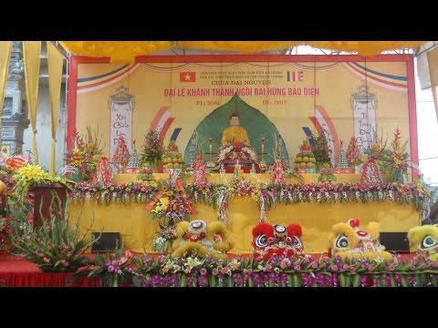 Khánh thành chùa Đại Nguyện thôn Đồng Đông xã Đại Đồng Thành huyện Thuận Thành tỉnh Bắc Ninh
