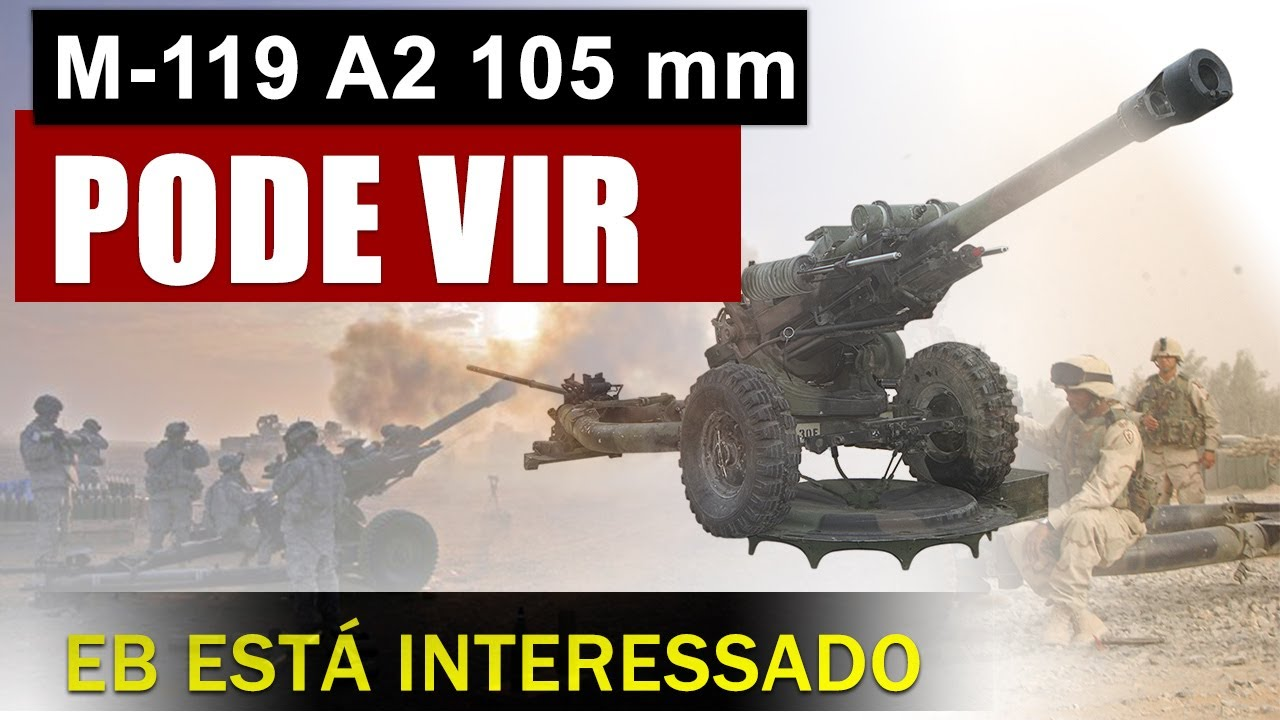 Exército Brasileiro quer obus M-119 A2 dos EUA