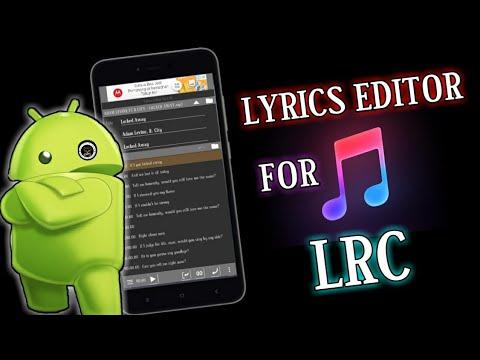 CARA MEMBUAT LIRIK LAGU DI ANDROID - LYRICS EDITOR FOR LRC ...