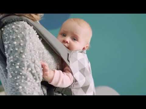 KinderKraft Ергономична раница за бебе Nino Сиво #GKmPr_h8u_E