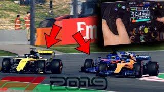 F1 2019: SORPASSI DISPERATI FINO ALLA FINE!