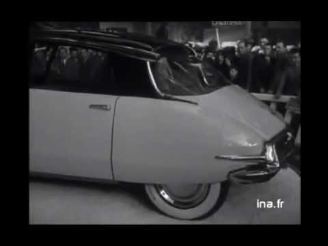 Citroen DS au salon 1955