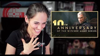 The Witcher 10th Anniversary Reaction & Update
