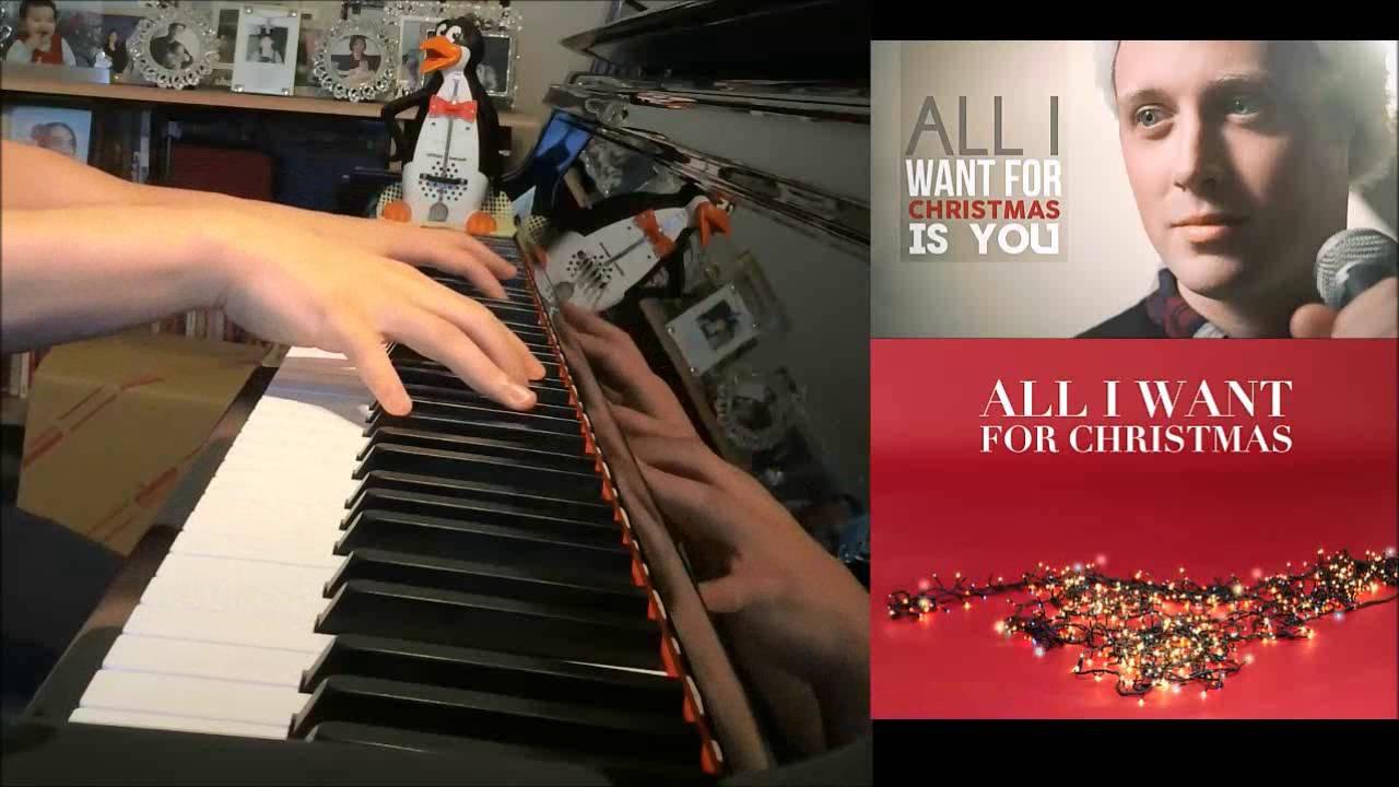 All I Want For Christmas - MINOR KEY! ft. Chase Holfelder (Piano ...