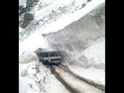 One of the Dangerous roads in world ,Himachal Pradesh Manali