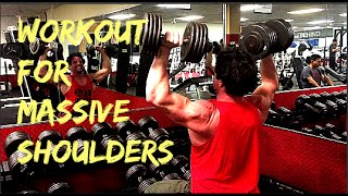 Workout for Massive Shoulders by Warrior Soul Apparel