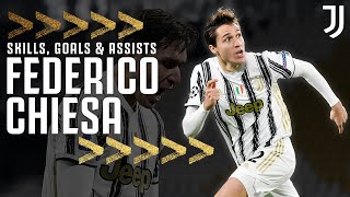 🇮🇹 🖌 The Best of Federico Chiesa | Skills, Goals \u0026 Assists! | Juventus