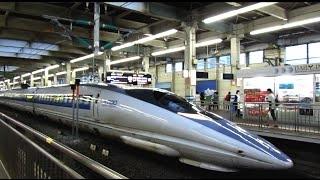 博多南線・山陽新幹線 こだま730号 (エヴァンゲリオン新幹線 500系V2Type EVA運行) 超広角車窓 進行右側 博多南・博多~新大阪