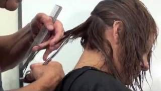HAIRCUTTING; LAYERS and BLENDING; FUN with RICCARDO ALTIERI