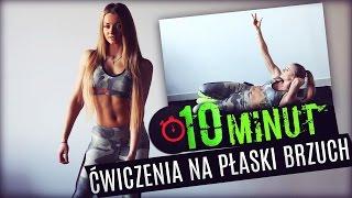 10 minut    ćwiczenia na płaski brzuch fit lovers