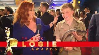 Robert Irwin brings a snake to the Red Carpet  | TV Week Logie Awards 2018