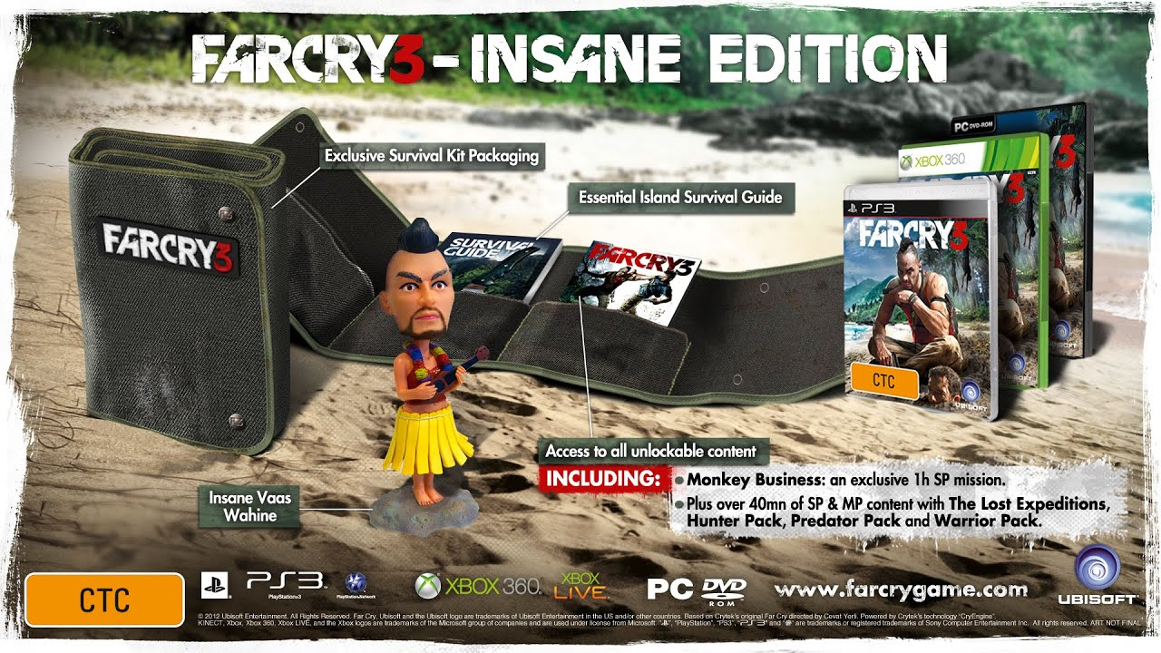 May 29, 2018. Description. (re-)experience far cry® 3 classic edition. Create your own adventure in a single-player, open world island of danger and.