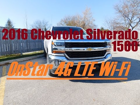 2016 Chevrolet Silverado: How to Connect to 4G LTE Wi-Fi