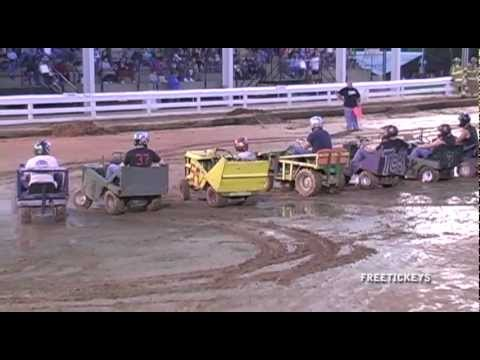 Lawn Mower Demo Derby Alexandria Ky Fairgrounds 9 17