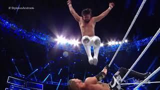 WWE Champion AJ Styles vs  Andrade Cien Almas SmackDown LIVE, Sept  18, 2018