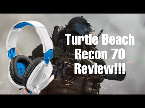 Turtlebeach Recon 70 Headset Review!!!