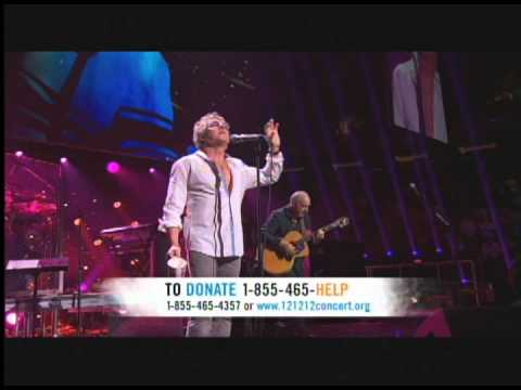 TOWNSHEND and DALTRY The Who Tea And Theatre 121212concert LIVE