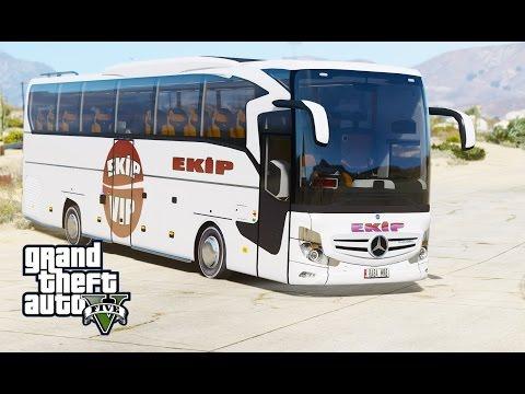 GTA 5 MERCEDES TRAVEGO 2016 MODU EKP