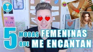 5 modas FEMENINAS que ME ENCANTAN **Opinión PERSONAL** | Gian GG