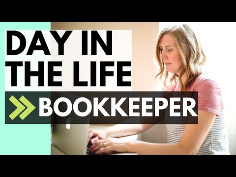 Bookkeeper DAY IN THE LIFE (bookkeeping Job Description)