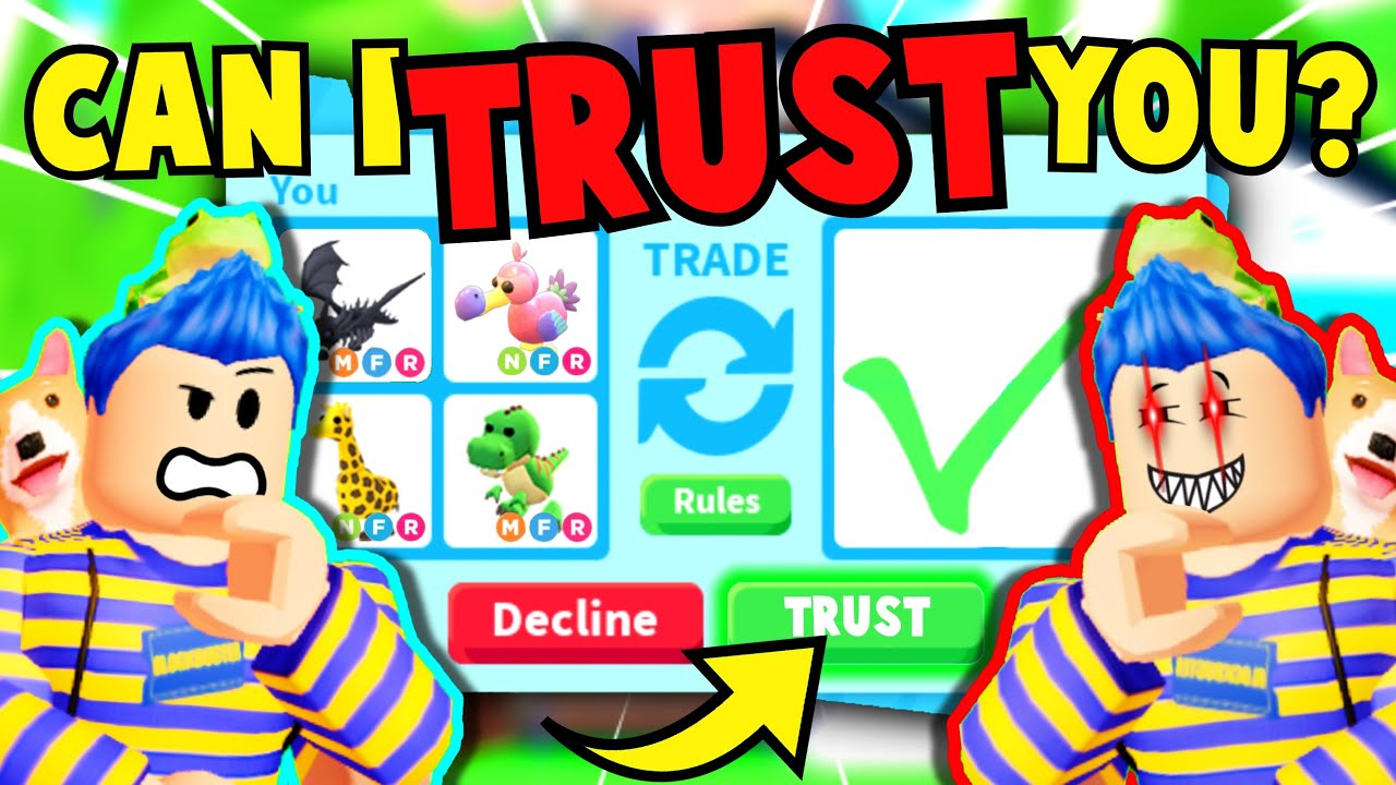 I TRUST TRADED My *IMPOSTER* To SURPRISE My *CRUSH* With Her DREAM PET (900 IQ)!! Adopt Me Roblox
