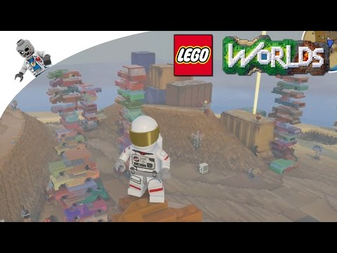 Lost in the Junkyard Jungle -- Lego Worlds -- Cats, Paintball Guns, Oh My! --  Let's Play