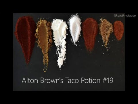 Alton Brown's Taco Potion #19