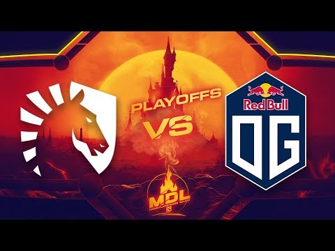 Liquid Vs OG Game 1 - MDL Paris Major EU Qualifiers: Semifinals