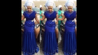 Nigerian Aso Ebi Styles 2017 : Check Out Lovely Collection We Have Here
