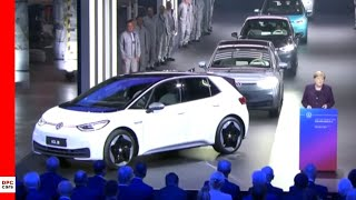 Electric VW ID3 Start Of Production Presentation - Volkswagen