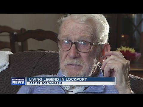 Living legend in Lockport: artist Joe Whalen
