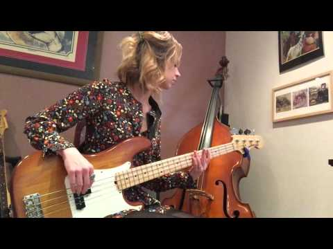 Bernadette: Four Tops played by Caitlin Gray (bass)
