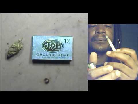 Certified Pothead – Rolling Paper Review – Job Organic Hemp 1 1/2