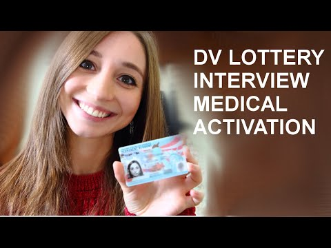 DV Lottery Process - My experiences with Interview, Medical, Activation