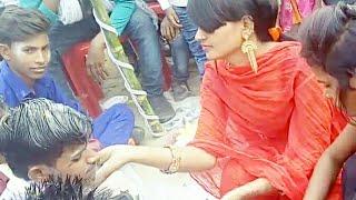 जीजा साली funny mood ।। गाँव की शादी    Indian wedding video    Dulhe ki saliyo    Village jija sali