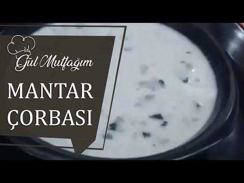 Mantar Çorbası |Sütlü Mantar Çorbası |Nefis Pratik Tarifler Gülmutfagimcom