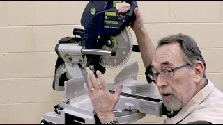 Festool Kapex Miter Saw Product Tour