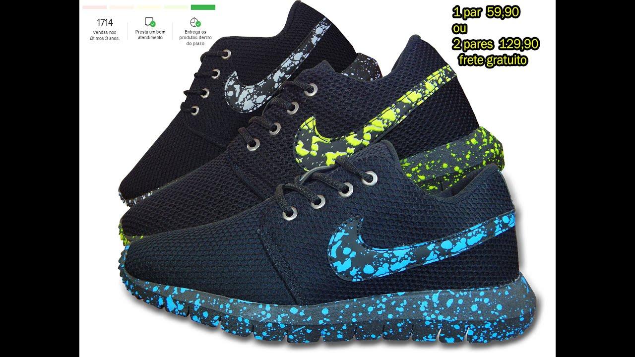 Tênis Nike Roshe One Unboxing Mercado Livre Adiquira Ja O Seu