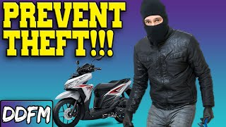 4 Tips to Prevent Motorcycle Theft