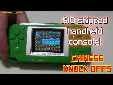 $10 shipped handheld console - Chinese Knock Offs - 4K